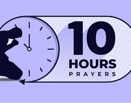 10 Hours Prayer, November Edition