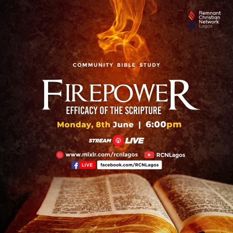 Firepower (Efficacy of the scripture) with Rev Austin Ukporhe