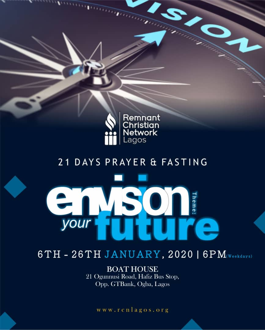 Envision Your Future Day 11 -Pastor Tobi Ojetunde
