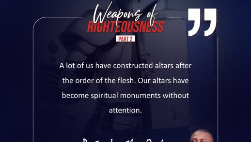The Process of Death (Weapons of Righteouness 2)_Pst Jonathan Oraka