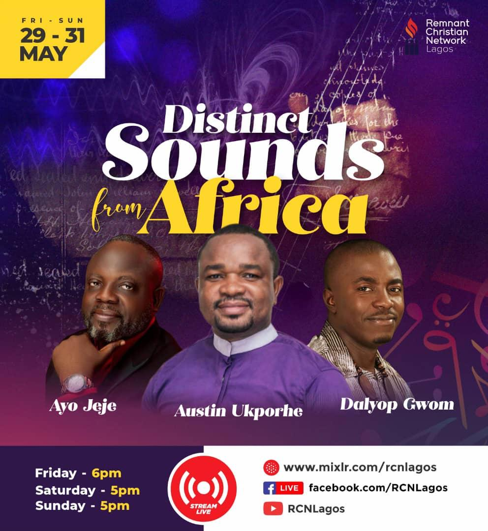 Day 3- Distinct Sounds from Africa with Rev Austin and Apostle Daps Gwom