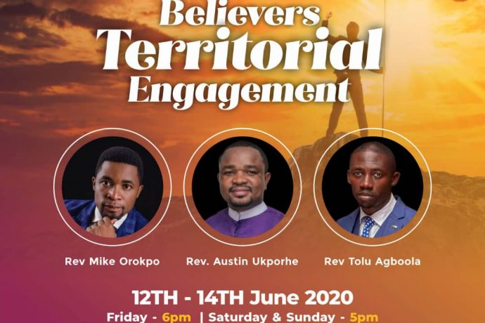 Intimacy- A strategy for taking territories II Rev Austin Ukporhe II Rev Michael Orokpo