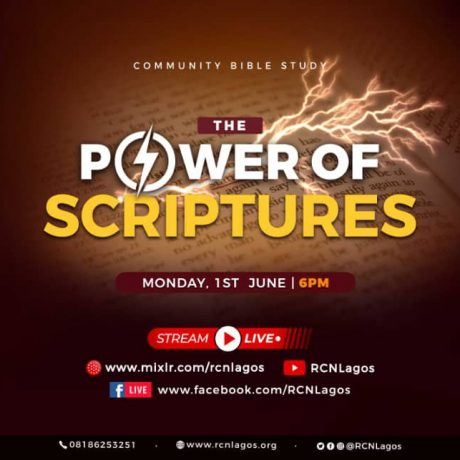Power of Scriptures with Rev Austin Ukporhe